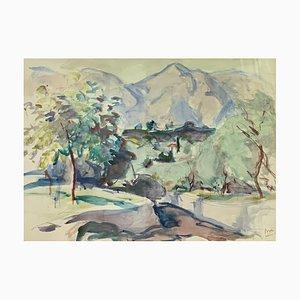 Jean Dries, Chemin de Malcesine, Lac de Garde, 1947