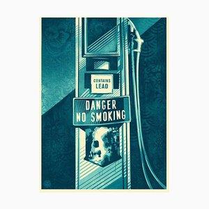 Shepard Fairey Obey, Danger No Smoking, 2016