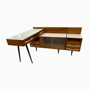 Modular Table, Nightstand and Chest of Drawers by M. Pozar, 1960s, Set of 3