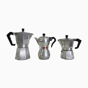 Vintage Signora Kaffeekannen oder Kaffeeservice, Italien, 1960er, 3er Set