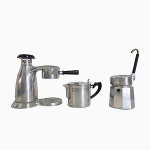 Caffettiere o caffetterie Vesuviana di OMG, Italia, anni '60, set di 3
