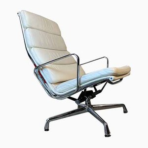 Model EA 222 Swivel Lounge Chair by Charles & Ray Eames for Vitra, 1990s