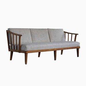 Mid-Century Swedish Model Visingsö 3-Seat Sofa by Carl Malmsten for O.H Sjögren, 1960s