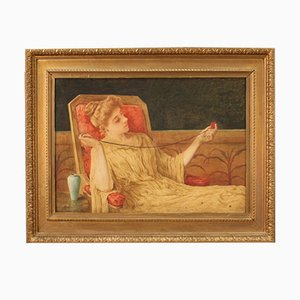 Antique English Painting, 1886