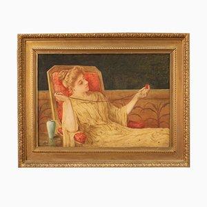 Peinture Antique, Angleterre, 1886