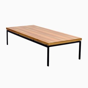 Restored Walnut Coffee Table, 1960s