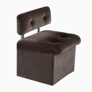 Modulare italienische Mid-Century Sessel, Spätes 20. Jahrhundert, 5er Set