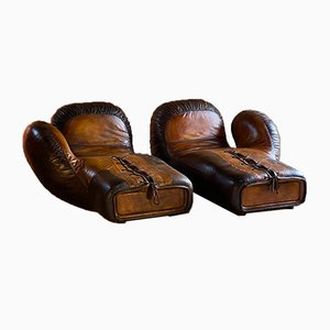 Swiss DS-2878 Boxing Glove Sofas from De Sede, 1978, Set of 2
