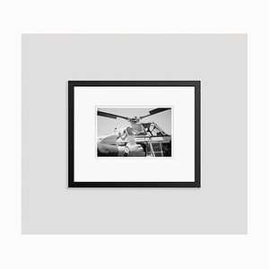 Schwarzer Monroe on Time Archivdruck von Bettmann