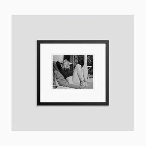 Imprimé Pigmentaire Marilyn Monroe Encadré en Noir par Bettmann