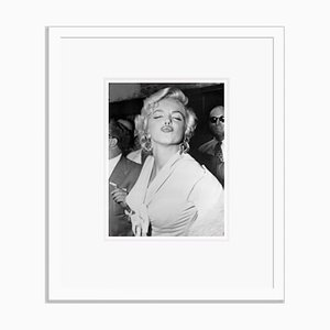 Famous Pout Archival Pigment Print Framed in White by Bettmann