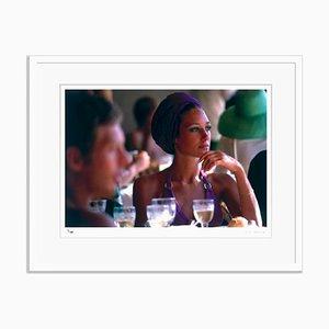 Marisa Berenson Framed in White by Slim Aarons