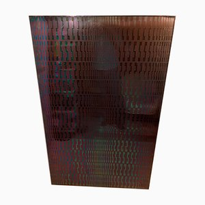 Kinetic Steel Modular Sculpture by Estuardo Maldonado, 1970s