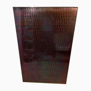 Modulare kinetische Stahl Skulptur von Estuardo Maldonado, 1970er