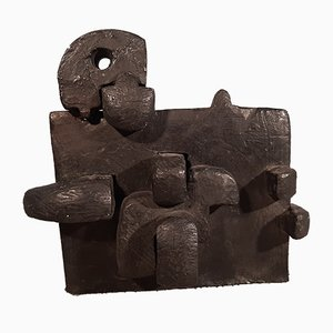 To Fight No.1 Bronze Sculpture by Andrea Cascella