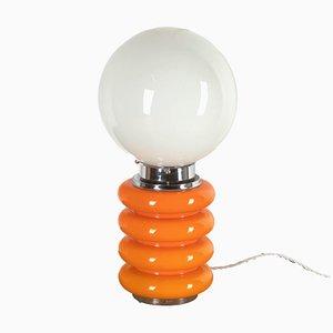 Lampada da tavolo arancione di Carlo Nason, Italia