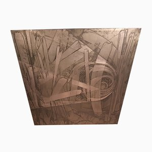 Panneau Décoratif en Cuivre par Victor Cerrato, 1970s