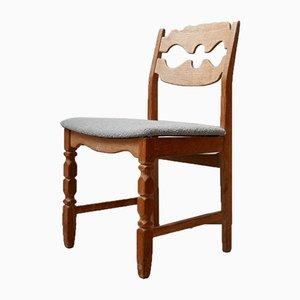 Mid-Century Danish Razorblade Dining Chairs by Henning Kjaernulf, Set of 8