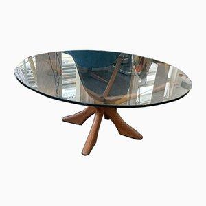 Danish Coffee Table by Illum Wikkelsø for Niels Eilersen