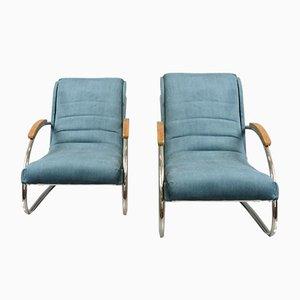 Bauhaus Modell K32 Armlehnstühle von Robert Slezak, 1930er, 2er Set