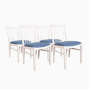 Mid-Century Swedish Dining Chairs by Carl Malmsten for Bodafors, 1960s, Set of 4