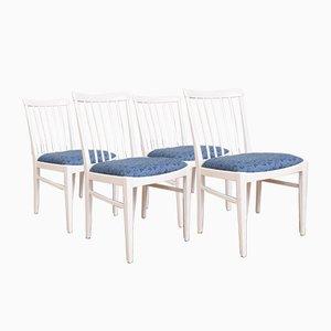 Schwedische Mid-Century Esszimmerstühle von Carl Malmsten für Bodafors, 1960er, 4er Set