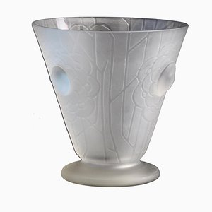 Französische Art Deco Vase von Helbert, 1930er