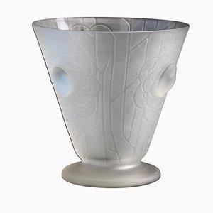 French Art Deco Vase by Helbert, 1930s