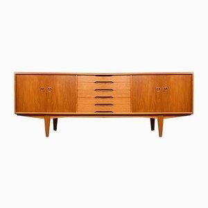 Enfilade Moderne en Teck par Alf Aarseth pour Gustav Bahus, Norvège