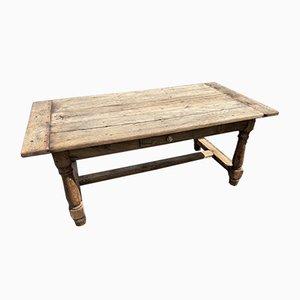 Bleached Oak Farmhouse Coffee Table
