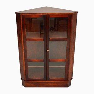Vintage Danish Corner Cabinet