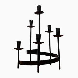 Skandinavischer Brutalistischer Mid-Century Kerzenhalter von Ystad