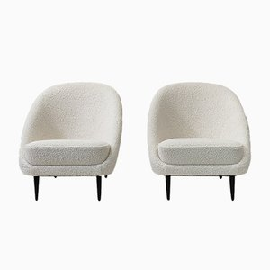 115 Lounge Chairs by Theo Ruth for Artifort, 1950s, Set of 2