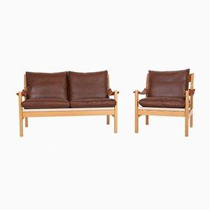 Sofa und Sessel von Poul Cadovius für Cado, 1970er, 2er Set