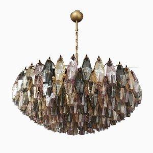 Mehrfarbiger Murano Glas Kronleuchter