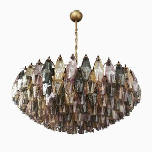 Multi-Colored Murano Glass Candelier