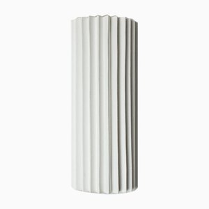 Pleated Wall Light with Linen Shade