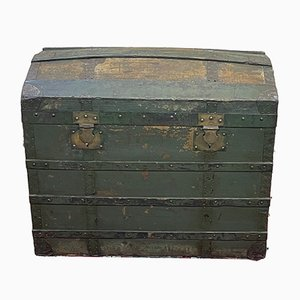 Curved Travel Trunk, 1930s
