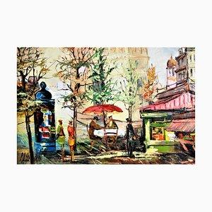 Alla Prima Oil Painting by H. Passero