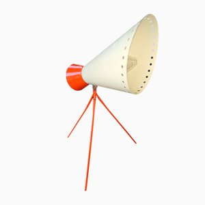 Expo 58 1618 Dreibein Tischlampe von Josef Hurka für Napako, 1960er