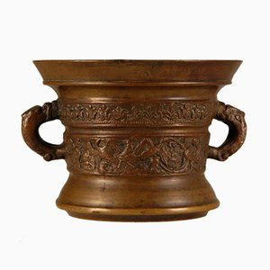 Mortier & Pilon Antique Renaissance, Bronze, Début 17ème Siècle, Pays-Bas