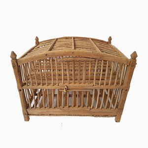Antique Pine Cheese Aging Cage, 1850s