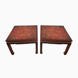 Beistelltische, China, 20. Jahrhundert, 2er Set