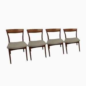 Danish Teak Chairs, Set of 4