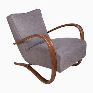 H-269 Lounge Chair by Jindřich Halabala for UP Závody, 1930s