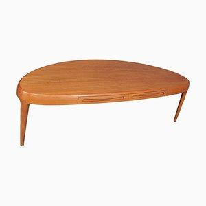 Teak Capri Series Coffee Table by Johannes Andersen for Trensum, 1960s
