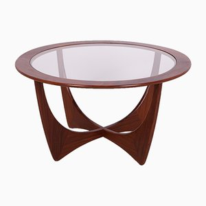 Round Teak Astro Coffee Table by Victor Wilkins for G-Plan, 1950s