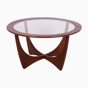 Tavolino da caffè Astro rotondo in teak di Victor Wilkins per G-Plan, anni '50