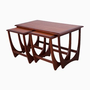 Tables Gigognes par Victor Wilkins pour G-Plan, 1960s, Set de 3