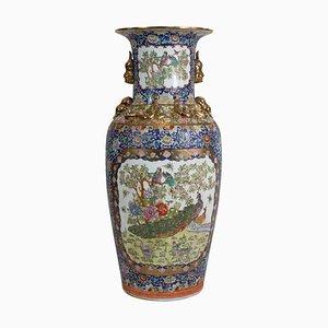 Große Chinesische Qing Dynastie oder Tongzhi Porzellan Vasen